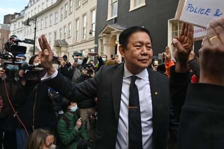 Diplomats loyal to Myanmar military seize London embassy