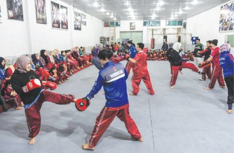 Hazara women hit back with martial arts
