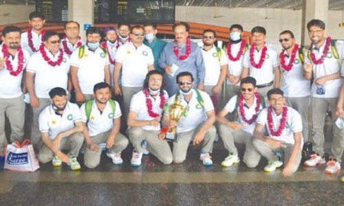 Team effort helped blind cricketers win triangular series: Sultan Shah