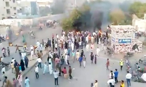 Protests erupt in multiple cities after TLP chief Saad Rizvi detained in Lahore