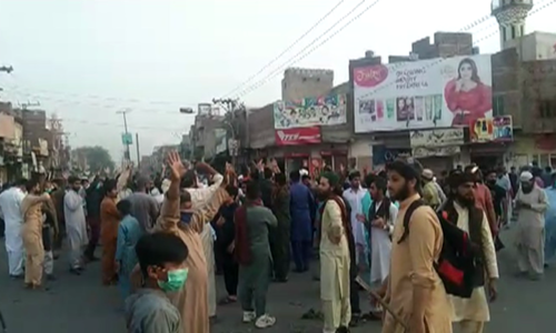 Protests continue across Pakistan for a second day against detention of TLP chief
