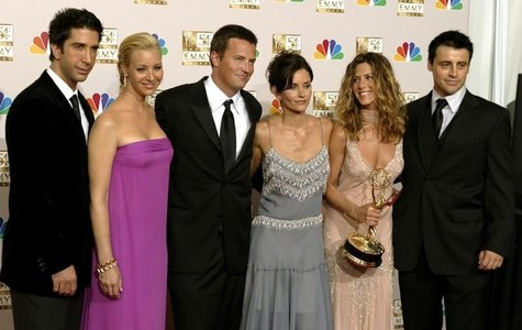 The Friends Reunion special has completed shooting