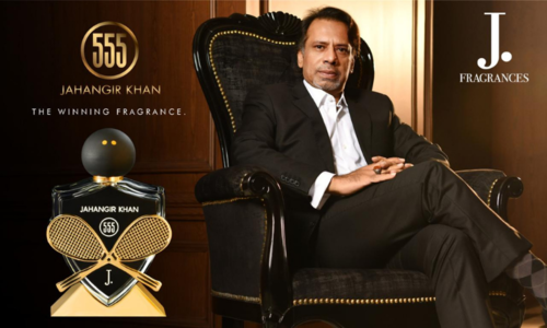 J. is paying homage to Jahangir Khan with new fragrance