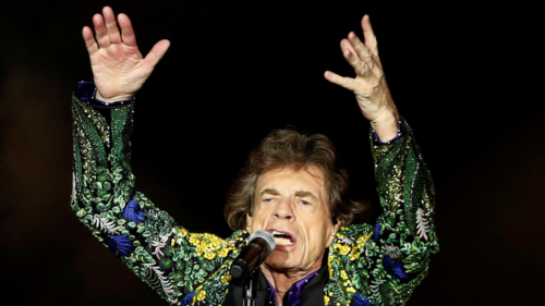 Mick Jagger celebrates end of UK lockdown in new track 'Eazy Sleazy'