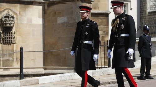 Prince Philip's funeral offers chance for William, Harry to reconcile