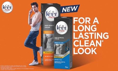 Will macho men use Veet to manscape?
