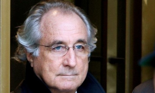 Bernie Madoff, architect of largest Ponzi scheme in history, dies at 82