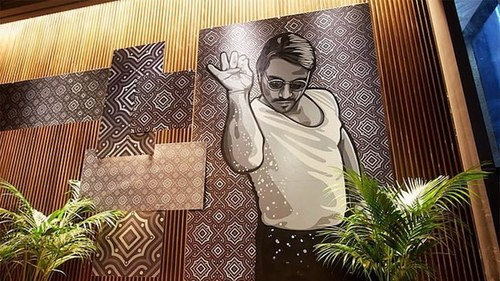 'Salt Bae' is being sued for $5m for misusing artwork featuring himself