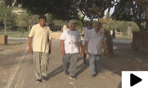 کراچی کے شہریوں میں رمضان کے دوران بھی ورزش کا رجحان