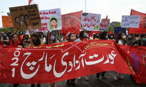 عورت مارچ کے منتظمین کے خلاف مقدمہ درج