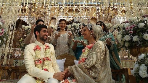Till death do us part[y]: There's no stopping wedding season in pandemic-stricken Pakistan