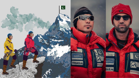Social media congratulates first Pakistani mountaineers to summit Nepal's Annuparna