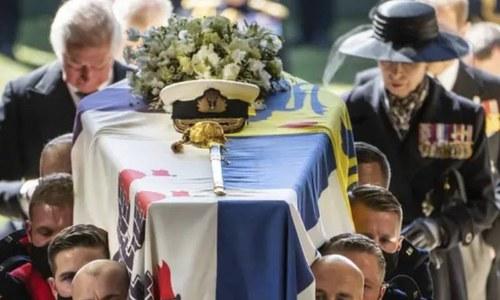 'ڈیوک آف ایڈنبرا' شہزادہ فلپ کی آخری رسومات ادا کردی گئیں
