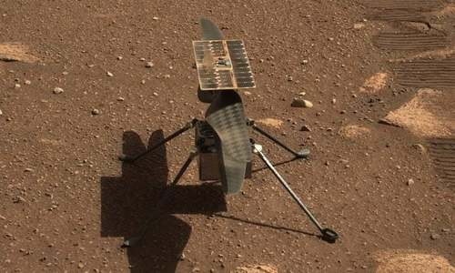 Nasa hopes to make history with helicopter's test flight on Mars