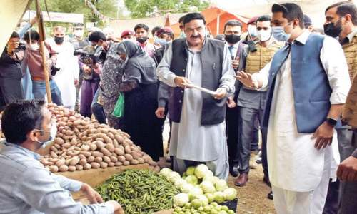 Minister visits Sasta bazaars in capital