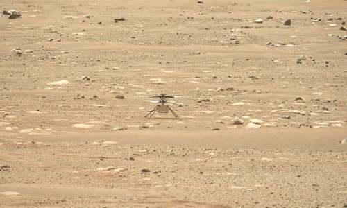 Nasa's Mars copter to make first flight on another planet today