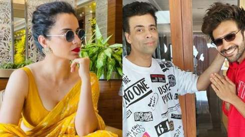 Kangana Ranaut lashes out at Karan Johar after he replaces Kartik Aryan in Dostana 2