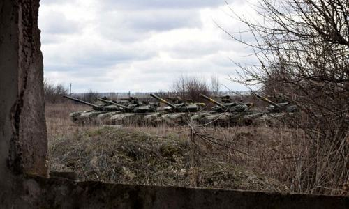 150,000 Russian troops deployed near Ukraine's borders: EU