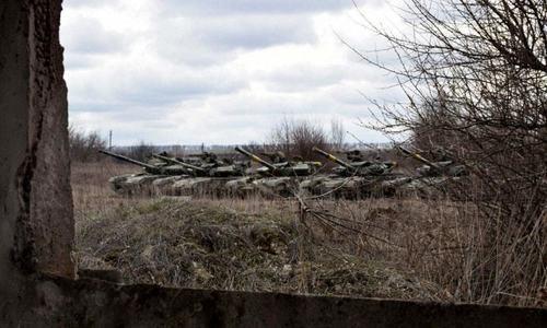 یوکرین کی سرحدوں کے قریب ڈیڑھ لاکھ روسی فوج تعینات ہیں، یورپی یونین