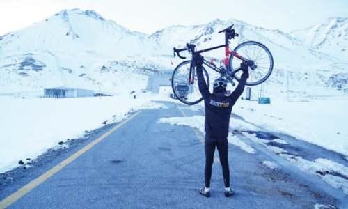 Hunza cyclist completes 2,800km trip