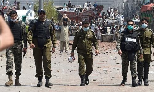Govt-TLP accord 'upsets' police high-ups in Punjab