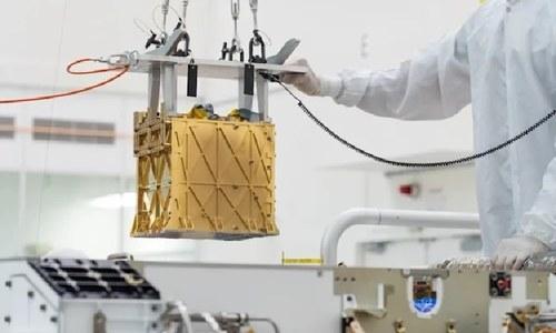 ناسا کا خلائی مشن مریخ میں کاربن ڈائی آکسائیڈ سے آکسیجن تیار کرنے میں کامیاب