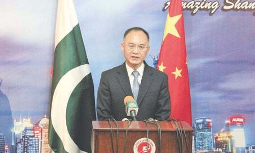 Unfazed, Chinese envoy spends a busy day in Quetta