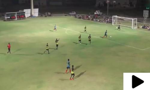 نیا ناظم آباد کراچی میں رمضان نائٹ فٹبال ٹورنامنٹ جاری