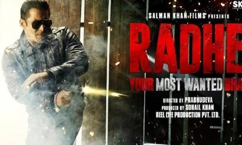 سلمان خان کی فلم 'رادھے' کا ٹریلر ریلیز