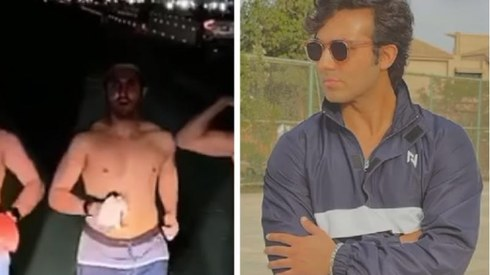 People aren't happy with Shahroz Sabzwari jogging topless in the streets of Karachi