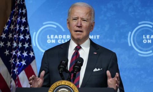 Biden urges world to work on transition to clean energy