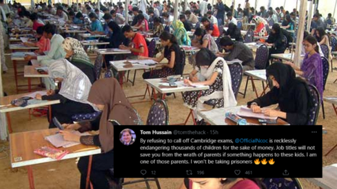 Rage and disbelief on Twitter as Pakistani students learn they will have to sit for O, A Level exams