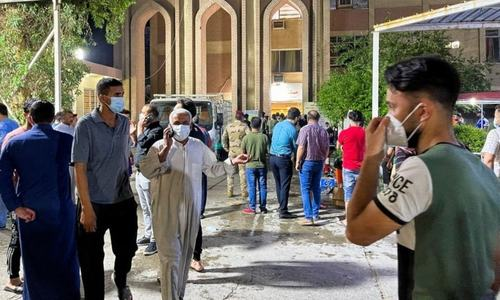 Death toll from Baghdad Covid-19 hospital fire climbs to 82