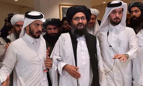 Taliban's obstinacy