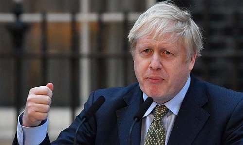 Johnson under pressure over 'let bodies pile high' comment