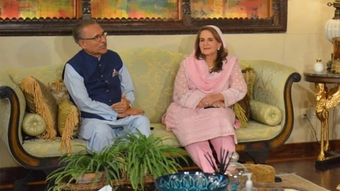 President Arif Alvi and First Lady Samina Alvi get candid about marriage, humour and love letters
