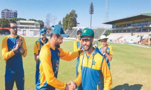 Pakistan on top after Hasan, Shaheen skittle Zimbabwe
