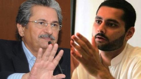 Shafqat Mahmood just blocked Jibran Nasir on Twitter for talking about cancelling exams