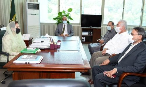 Ashfaq informs IPC minister about conditions for handover of PFF HQ to NC