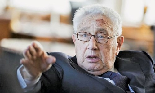 US-China tensions carry seeds of war, warns Kissinger