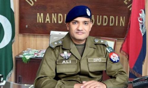 Mandi Bahauddin DPO transferred on 'PML-Q demand'