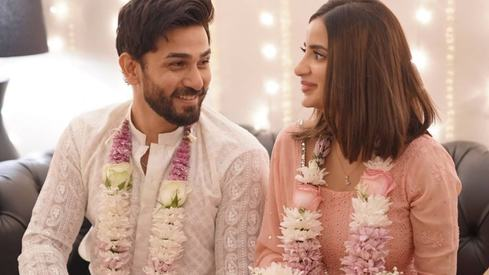 Saboor Aly and Ali Ansari are engaged