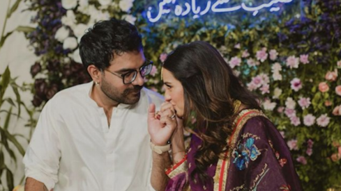 Iqra Aziz and Yasir Hussain are going to be parents