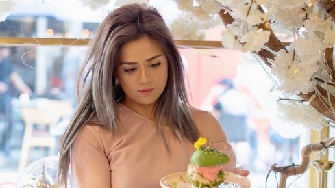 British-Pakistani chef Zahra Khan's Instagrammable cafés landed her a spot on Forbes 30 Under 30