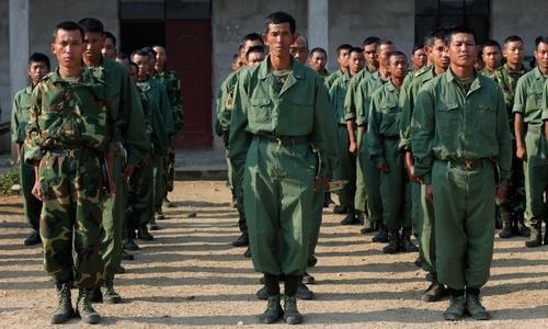 Myanmar rebels claim downing military copter