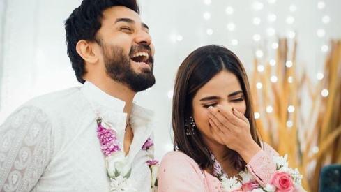 Ali Ansari pens heartfelt note for fiancée Saboor Aly