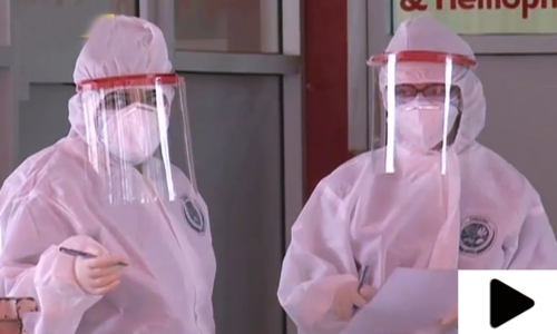 کورونا وبا، طبی عملے کو خراج تحسین پیش کرنے کا منفرد انداز