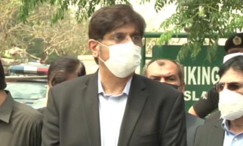 وفاقی حکومت کا کورونا وائرس سے نمٹنے کا طریقہ کار عقل سے ماورا ہے، مراد علی شاہ