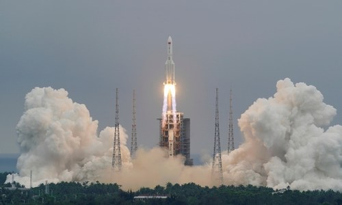 Debris from China's rocket likely to fall in international waters
