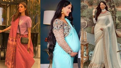 Up your clothes game this Eid with these saris with a twist